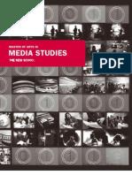 2008 Fall Media Studies Viewbook