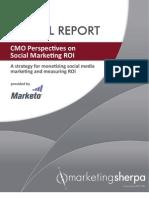 MarketingSherpa CMO Social Marketing
