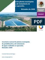 Invert a Rio Nacional de Plantas Municipales 2009 Baja
