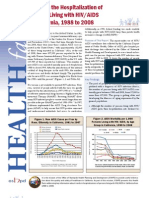 1988-2008 AIDS and HIV Hospitalization Trends Report