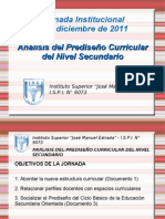 Jornada Institucional - 2/12/2011