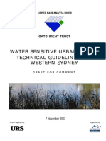 Australia; Water Sensitive Urban Design Technical Guidelines for Western Sydney