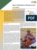 Bolivia; SODIS Network in Latin America