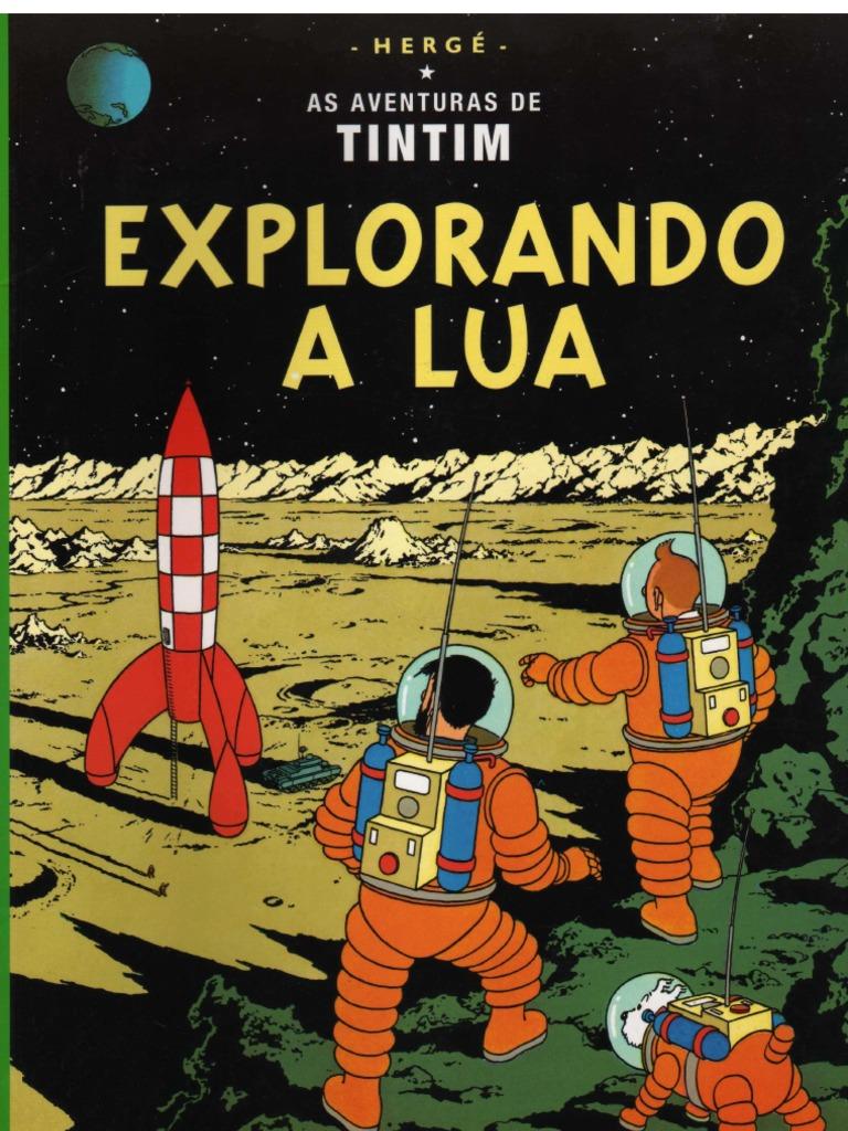 As aventuras de tintim explorando a lua fandeluxe Gallery