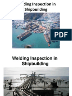Welding Inspection in Shipbuilding