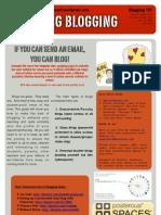 Blagging Blogging