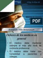 Codigo de Etica Del Medico Armando Villa