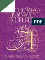Del Anecdotario histórico del Perú de Alfredo Rebaza Acosta