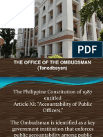 RA 6770 Ombudsman Act