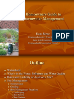 Pennsylvania; Homeowners Guide To Stormwater Management (Rain Barrel) - Penn State University