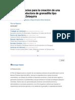 Plan de negocios para la creación de una empresa productora de granadilla tipo exportación Zetaquira