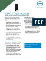 Vostro 260 Customer Brochure Spec Sheet