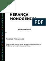 HERANÇA MONOGENICA