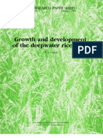 IRPS 103 Growth and development of the deepwater rice plant