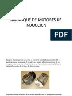 Arranque de Motores de Induccion