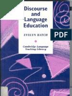 discourseandlenguajeeducation