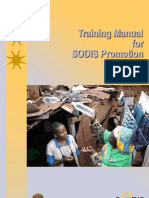 Switzerland; Training Manual for SODIS Promotion - Solar Water Disinfection