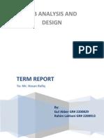 JAD report