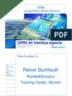 Cdrt Gprs Air Interface