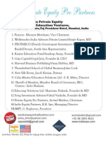 Private Equity for Education Ventures 10 Feb 2011