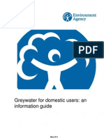 UK; Greywater For Domestic Users