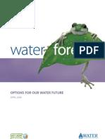 Australia; Water Forever