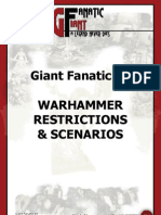 GF14 WHFB Restrictions