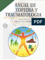 Manual de  Ortopedia y  Traumatología Gasic