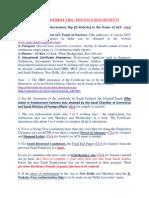 Saudi Employment Visa - Process & Requirements