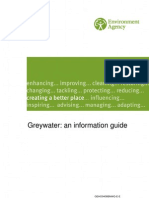 UK; Greywater Recycling