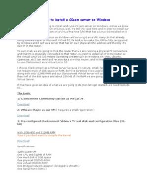 How Install Cccam Server Windows | Ip Address | Operating System