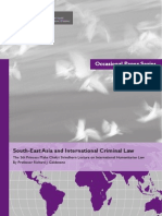South-East Asia and International Criminal Law