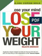Don't Lose Your Mind Lose Your Weight RUJUTA DIWEKAR