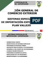 sistemas especiales de importación-exportacion