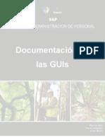 Documentación de Las GUIs