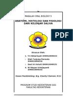 Anatomi, Histologi Dan Fisiologi Dari Kelenjar Saliva-kelompok 4
