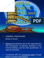 Arrest, Search and Seizure Power Point With Draw-English - Ne