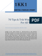 70 Tips & Trik Windows 7 for All Version