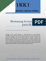 Memasang Screen Server Pada BLOGGER