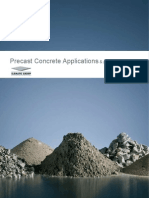 Precast Concrete Applications & General Overview