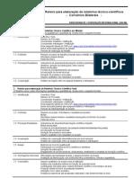 Roteiro para elaboração de relatórios técnico