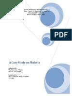 Malaria Case Study