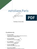 Présentation Aérolians Paris SIMI  V4