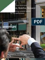 Accenture Service Transformation Rethink