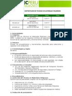 Procedimiento contratación Tec. Mat Pel