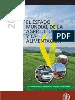 Estado Mundial de La Agricultura y La Alimentación