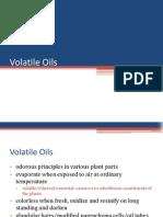 4 Volatile Oils