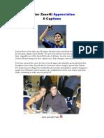 Javier Zanetti Appreciation