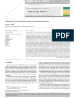 (2011) Production of ant Proteins by Filamentous Fungi