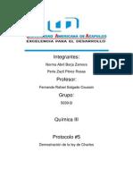 Protocolo 5 Ley de Charles